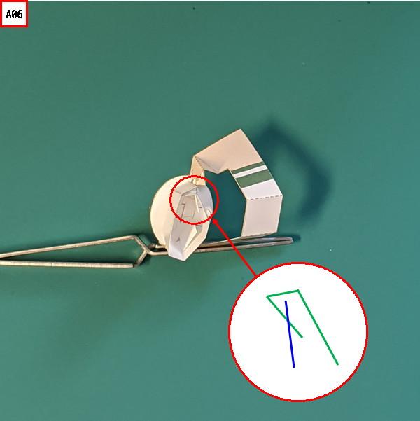 オプション腕パーツの組み立て説明図6