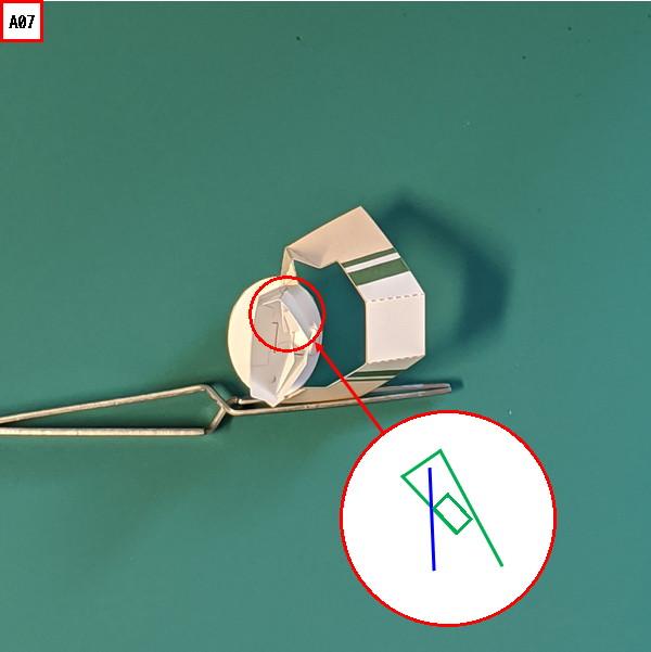オプション腕パーツの組み立て説明図7